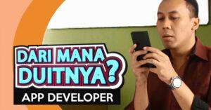 Dari Mana duitnya app dan game developer. Sumber uang app dan game developer.