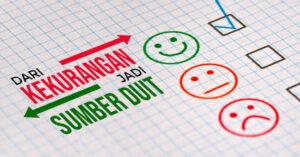 Mengatasi kekurangan diri menjadi sumber duit. Bagaimana cara mengatasi kekurangan dan menangani kelemahan
